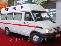 Iveco NJ5046XFY vaccination medical minibus