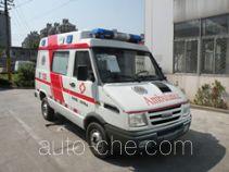 畅达牌NJ5049XJH4A型救护车