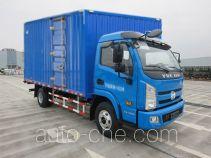Yuejin NJ5082XXYKHDCWZ box van truck