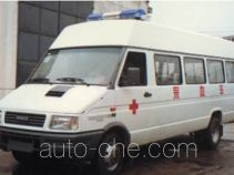 Iveco blood collection medical vehicle