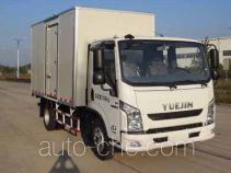 Yuejin NJ5071XXYZHDCMZ box van truck