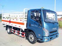 Yuejin NJ5072TQPZFDCMZ gas cylinder transport truck