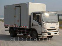 Yuejin NJ5042XXYZFDCMZ box van truck