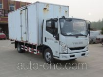 Yuejin NJ5072XXYZHDCMZ box van truck