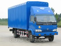 Yuejin NJ5080P-DBL soft top box van truck