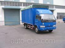 Yuejin NJ5080P-DCFZ soft top box van truck