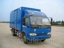 Yuejin NJ5080XXYDCJT4 box van truck