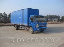 Yuejin NJ5082XXYKFDCWZ box van truck
