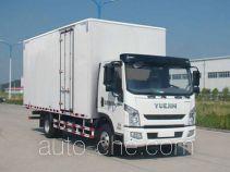 Yuejin NJ5082XXYZKDCWZ box van truck