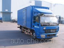 Yuejin NJ5080XXYDDJT box van truck