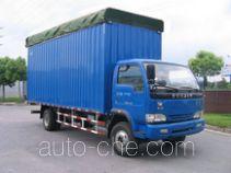 Yuejin NJ5140P-DCMZ soft top box van truck