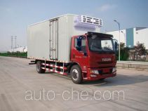 Yuejin NJ5161XLCZNDDWZ refrigerated truck