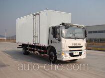 Yuejin NJ5161XXYZQDDWZ box van truck