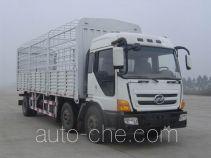凌野牌NJ5180C-DAW型仓栅式运输车