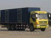 凌野牌NJ5190XXY-DAW型厢式运输车