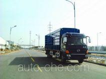 凌野牌NJ5250C-DAW型仓栅式运输车