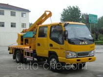 Luxin NJJ5073TQX guardrail and fence repair truck