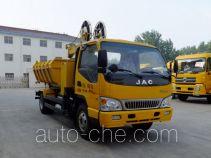 路鑫牌NJJ5090ZZDLJ型抓斗式垃圾车