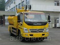Luxin NJJ5120ZZDLJ grab garbage truck