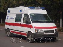 雨花牌NJK5038XJH25型救护车