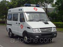雨花牌NJK5041XJH4M型救护车