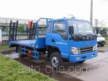 南骏牌NJP5100TPBPP38B型平板运输车