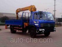 CNJ Nanjun NJP5160JSQQP51B truck mounted loader crane