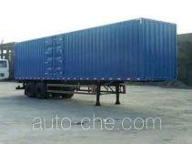 King Long NJT9210XXY box body van trailer