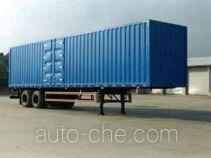 King Long NJT9270XXY box body van trailer