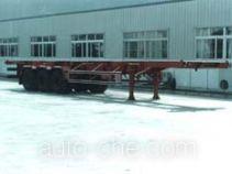金龙牌NJT9370TJZ型集装箱运输半挂车