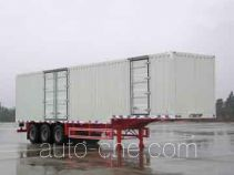 King Long NJT9390XXY box body van trailer