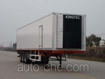 King Long NJT9400XLC refrigerated trailer