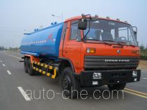Insulated water tank truck