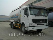 Tianyin NJZ5252GFL4 low-density bulk powder transport tank truck