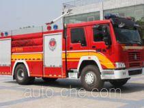 南马牌NM5190GXFPM80型泡沫消防车