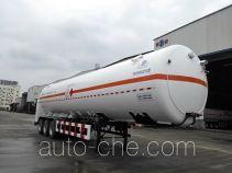 明欣牌NMX9400GDYG型低温液体运输半挂车