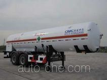 CIMC NTV9350GDYD cryogenic liquid tank semi-trailer