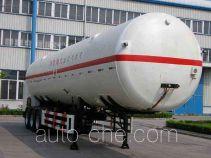 CIMC NTV9400GDY cryogenic liquid tank semi-trailer