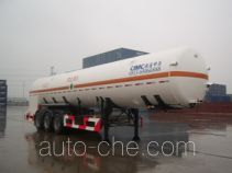 CIMC NTV9400GDYC cryogenic liquid tank semi-trailer