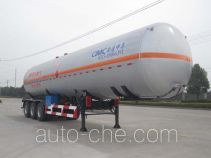 CIMC NTV9400GYQ liquefied gas tank trailer