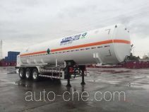 CIMC NTV9401GDYD cryogenic liquid tank semi-trailer