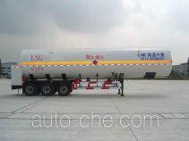 CIMC NTV9402GDY cryogenic liquid tank semi-trailer