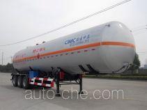 中集牌NTV9402GYQ型液化气体运输半挂车