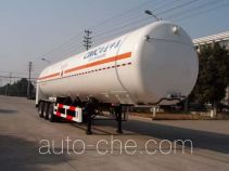CIMC NTV9403GDY cryogenic liquid tank semi-trailer