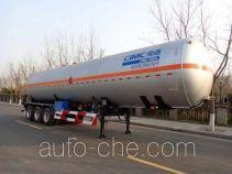 CIMC NTV9403GYQQ liquefied gas tank trailer