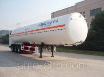 CIMC NTV9404GDY cryogenic liquid tank semi-trailer