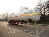 CIMC NTV9405GDY cryogenic liquid tank semi-trailer