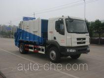 玉柴专汽牌NZ5160ZYSN型压缩式垃圾车