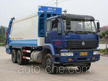 玉柴专汽牌NZ5250ZYSH型压缩式垃圾车