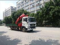 凌扬(FXB)牌PC5160JSQHW型随车起重运输车